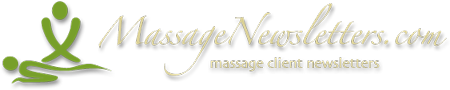 Massage Newsletters – Staying in Touch